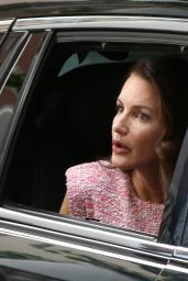 """Kristin Davis - """"And Just Like That"""" Set at The Astor House in New York 08/09/2021"""