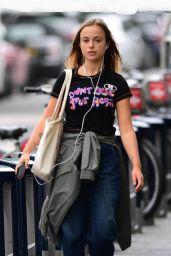 Lady Amelia Windsor Street Style - London 08/16/2021