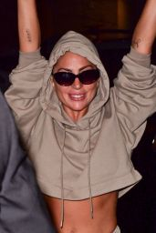 Lady Gaga in Comfy Outfit - New York City 08/03/2021