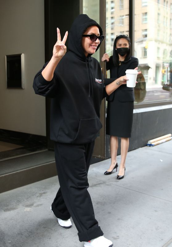 Lady Gaga - Out in New York 08/03/2021