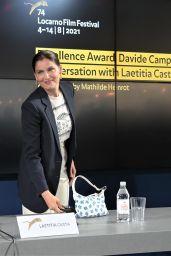Laetitia Casta - Locarno Film Festival in Locarco, Switzerland 08/04/2021