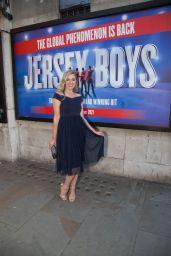 Larissa Eddie - Jersey Boys Opening Night in London 08/16/2021