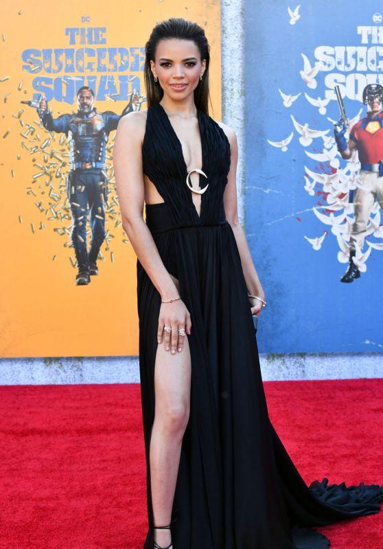 """Leslie Grace – """"The Suicide Squad"""" Premiere in Los Angeles"""