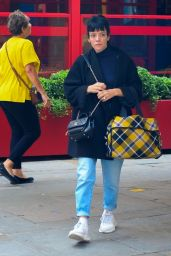 Lily Allen in Casual Outfit - London 08/18/2021