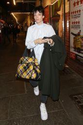 Lily Allen - Leaving The Noel Coward Theatre in London 08/28/2021