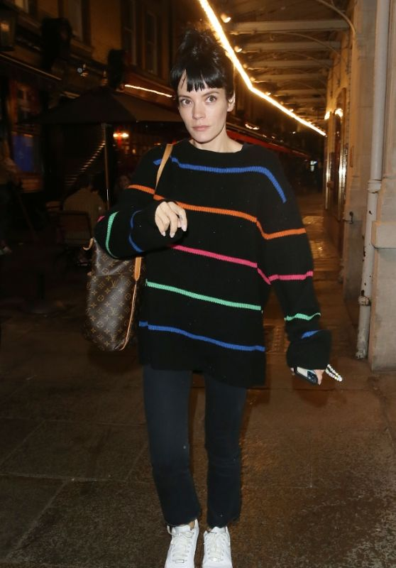 Lily Allen - Out in London 08/03/2021