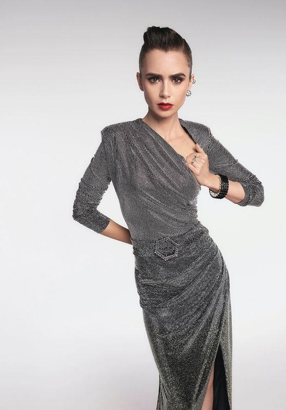 Lily Collins - Cartier Clash Unlimited Campaign 2021