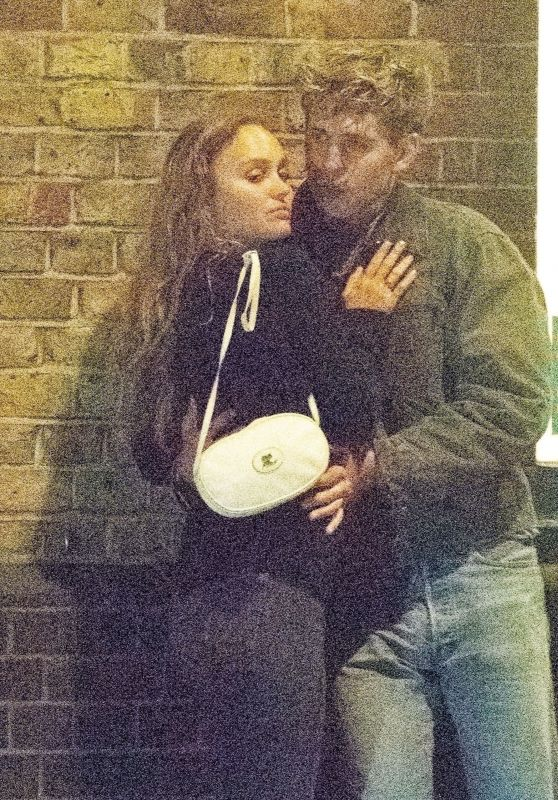 Lily-Rose Depp and Austin Butler - Out in London 08/10/2021