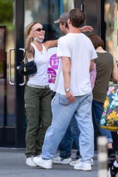 Lily-Rose Depp Street Style - Shopping at Sephora in NYC 08/14/2021