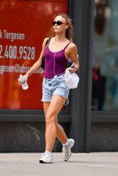 Lily-Rose Depp Summer Street Style - New York 08/15/2021