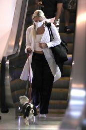 Lindsey Vonn at LAX in LA 08/24/2021