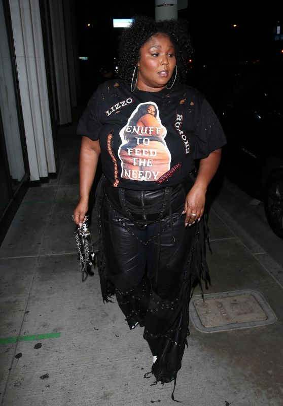 Lizzo at Catch LA in West Hollywood 08/20/2021