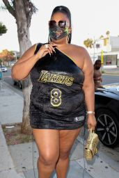 Lizzo - Rodeo Drive in Beverly Hills 08/13/2021
