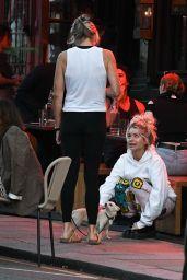 Lottie Moss at Gold Restauarnt in Notting Hill 08/23/2021