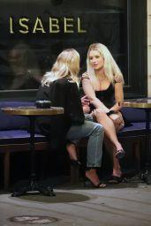Lottie Moss at Isabel Restaurant in London 08/20/2021