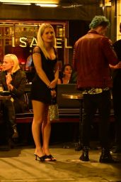 Lottie Moss at Isabel Restaurant in London 08/20/2021 (more photos)