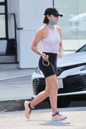 Lucy Hale - Hike in Los Angeles 08/19/2021