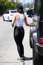 Lucy Hale in a Gym Ready Outfit - Los Angeles 08/05/2021