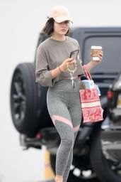 Lucy Hale - Out for Coffee in LA 08/09/2021