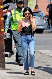 Lucy Hale - Out in Los Angeles 08/30/2021