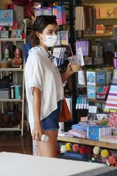 Lucy Hale - Shopping in Los Angeles 08/08/2021