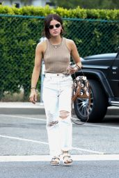 Lucy Hale Street Style - Beverly Hills 08/11/2021