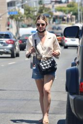 Lucy Hale Summer Street Style - Los Angeles 07/31/2021