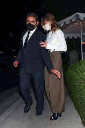 Margot Robbie at James Bond Viewing Party in West Hollywood 08/23/2021