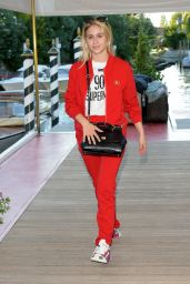 Maria Bakalova - Dolce & Gabbana Event in Venice 08/27/2021