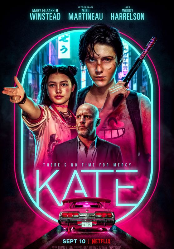 """Mary Elizabeth Winstead - """"Kate"""" Poster 2021"""