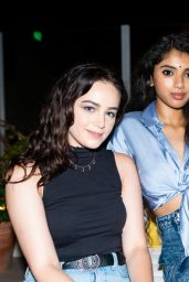 Mary Mouser - Flaunt Magazine Party at Bar Lis in LA 08/05/2021