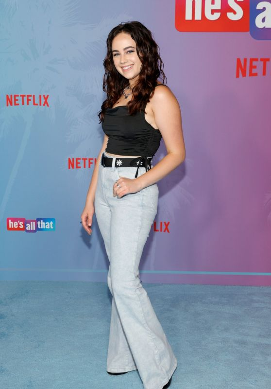 """Mary Mouser – """"He's All That"""" Premiere in Hollywood"""