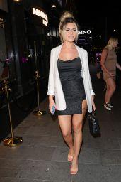 Megan Barton-Hanson at Magic Mike Live VIP Night in London 08/24/2021