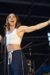Melanie Chisholm at Bear Grylls Gone Wild Festival in Exeter, Devon 08/29/2021