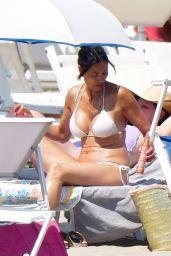 Melanie Sykes in a Bikini on Holiday in Venice 08/12/2021