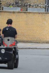 "Melia Kreiling Riding a Bike - ""Mammals"" Set in London 08/03/2021"