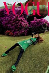 Melissa Barrera - Vogue Mexico August 2021