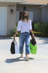 Melissa Benois – Leaves Jennifer Klien's Day of Indulgence in Brentwood 08/15/2021