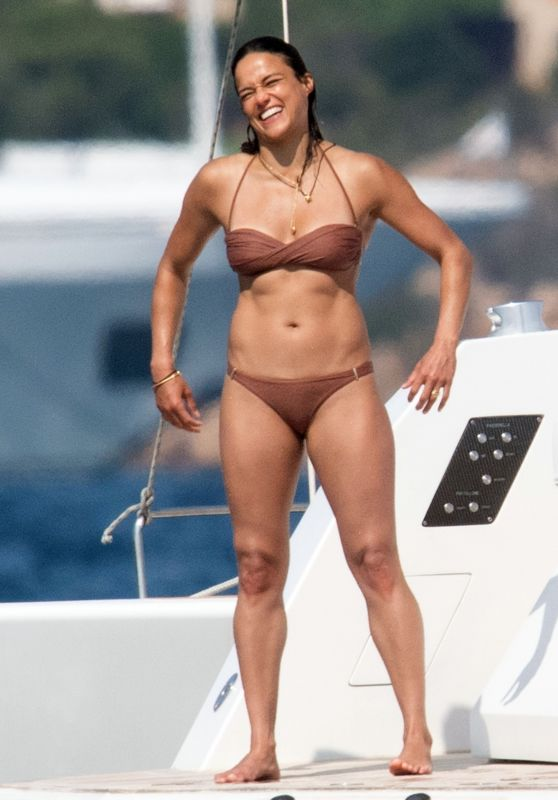 Michelle Rodriguez - Holiday in Porto Cervo 08/22/2021