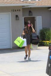 Miranda Cosgrove – Leaves Jennifer Klien's Day of Indulgence in Brentwood 08/15/2021