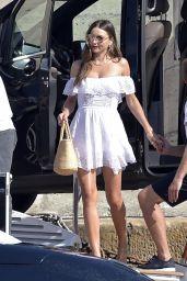 Miranda Kerr in a Summer Dress - Portofino 08/17/2021