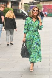 Myleene Klass at Global Radio in London 08/16/2021