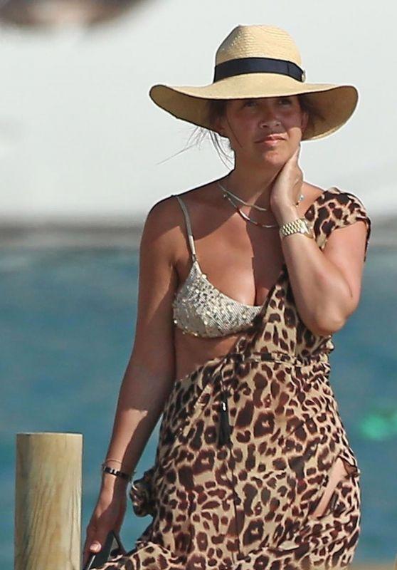 Myleene Klass in a Bikini in Spain 07/31/2021