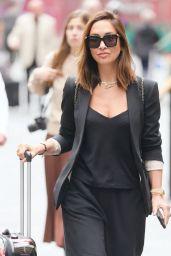 Myleene Klass in a Smart Blazer and Trousers - London 08/20/2021