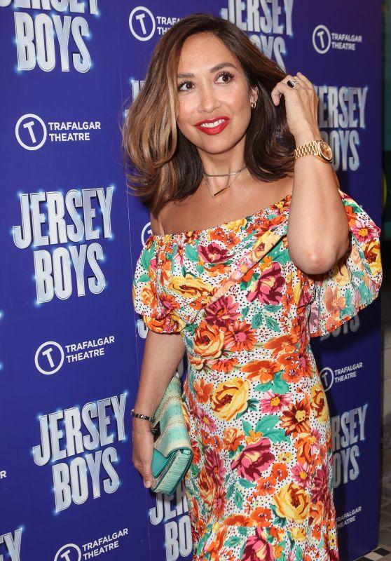 "Myleene Klass – ""Jersey Boys"" Press Night Performance at the Trafalgar Theatre in London 08/17/2021"