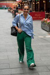 Myleene Klass - Out in London 08/23/2021