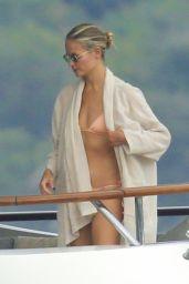 Natasha Poly on Yacht - Sardinia 08/11/2021