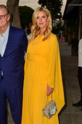 Nicky Hilton in a Yellow Dress - Cartier Event in LA 08/24/2021