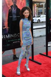 """Nico Parker - """"Reminiscence"""" Premiere at TCL Chinese Theatre in Hollywood 08/17/2021"""