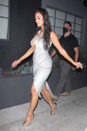 Nicole Scherzinger - Leaving the Taping of The Masked Singer in LA 08/05/2021